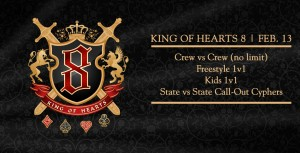 King of Hearts 8